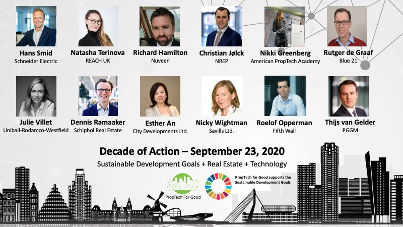 Decade of Action  - PropTech Of Good